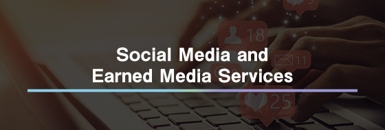 Social Media and Earned Media Services