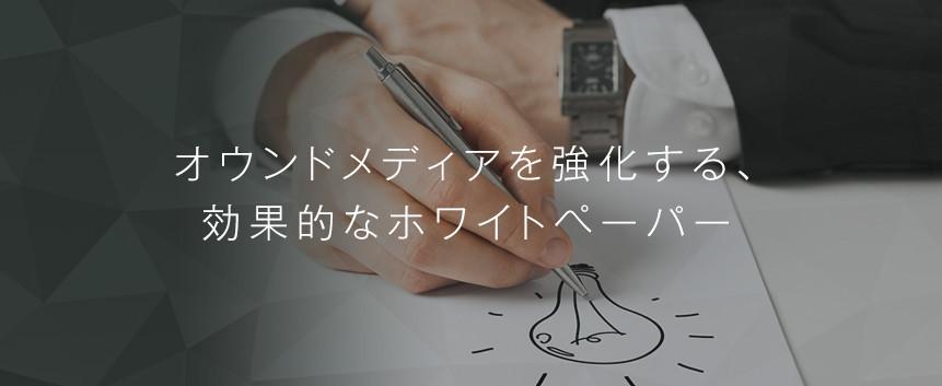 ホワイトペーパー・ebook制作
